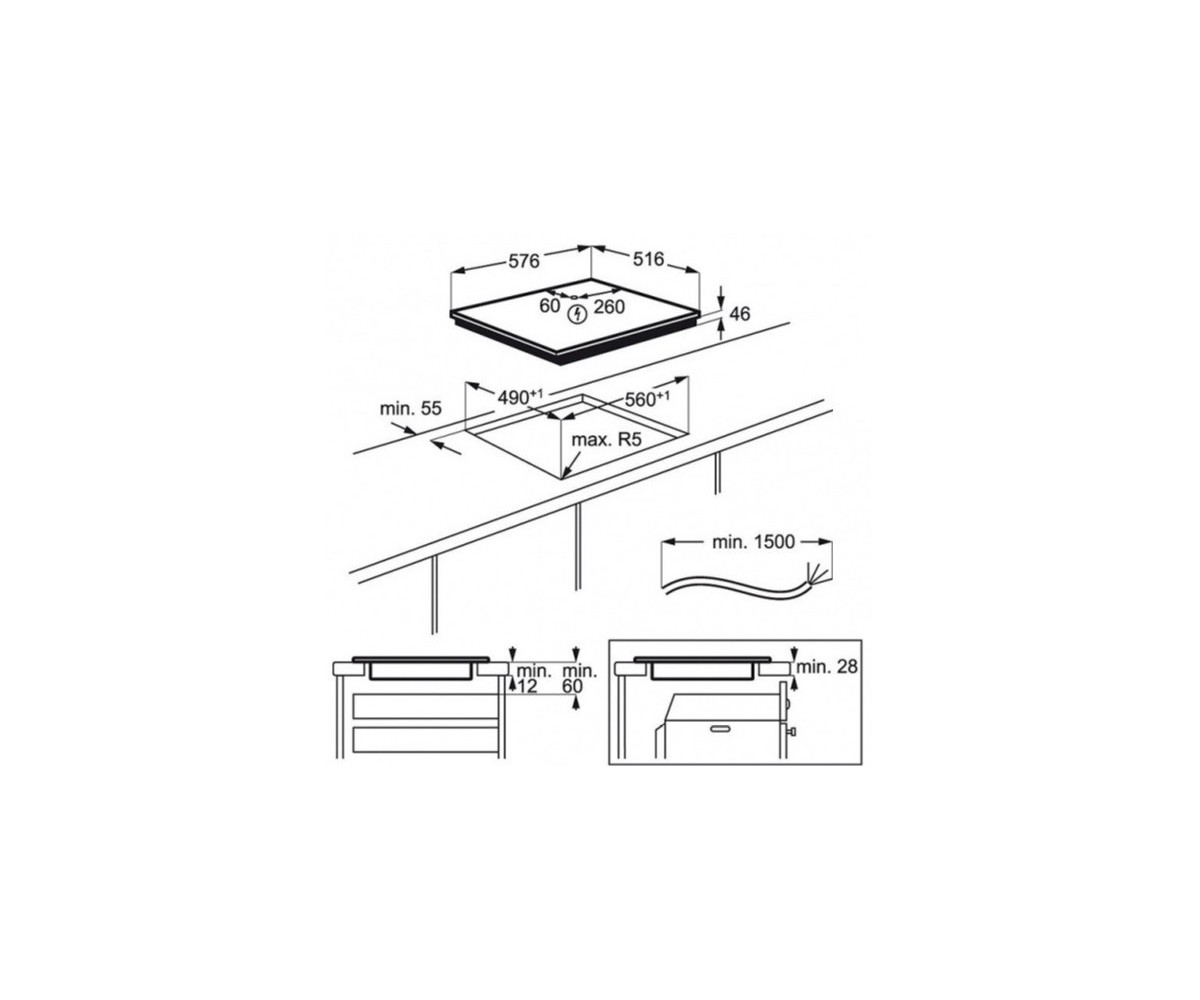 Aeg Induction Cooker Surface Ikb64301xb 60cm Schematic Circuit Diagram Display All Pictures