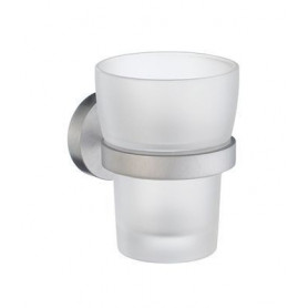 Smedbo Home glass with holder HS343