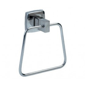 Mediclinics Towel ring, AISI 304 stainless steel, bright. W: 132 mm