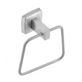 Mediclinics Towel ring, AISI 304 stainless steel, satin. W: 132 mm