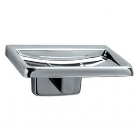 Mediclinics Soap dish, AISI 304 stainless steel, bright. L:108 mm