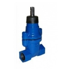 Evopipes flanged industrial vertical valve, A-type, DN32, FF, PN16, K12