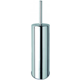 Mediclinics Toilet brush holder, AISI 304 stainless steel, bright. H: 407 mm
