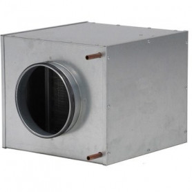 S&P MBW 400 channel air heater, water