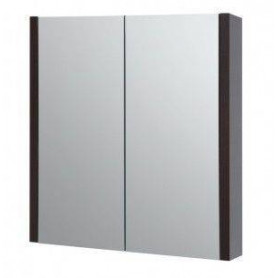 Raguvos Baldai Serena bathroom mirror cabinet 60 1400301, black oak