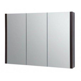 Raguvos Baldai Serena bathroom mirror cabinet 90cm 1400601, black oak