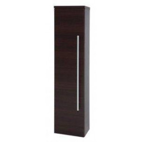 Raguvos Baldai Serena tall bathroom cabinet 35cm, black oak, 1430201