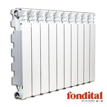 Fondital alumīnija radiators 350x 1sekc. balts Exclusivo