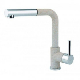 Aquasanita TAP 2383-110 kitchen mixer, high, with a pull-out spout, Beige