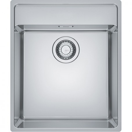 Franke build in stainless steel kitchen sink MRX210-40TL, with manual  outlet, 127.0531.851