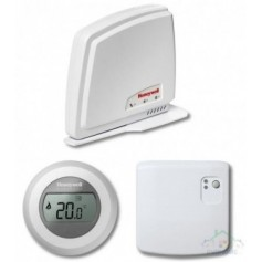 Honeywell wireless room thermostat T87RF, relay, RFG100