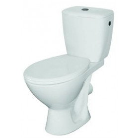 Cersanit WC toilet bowl Koral 010, with seat, side connection, wall outlet