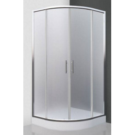 Roltechnik shower cabin, round Houston Neo 800