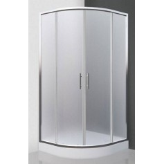 Roltechnik shower cabin, round Houston Neo 900