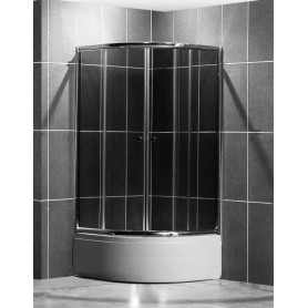Roltechnik shower cabin, round Madison Neo 900