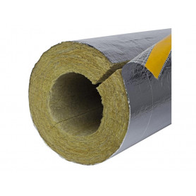 Paroc AluCoat T thermal insulation Ø 48mm/20mm (price for 1m)