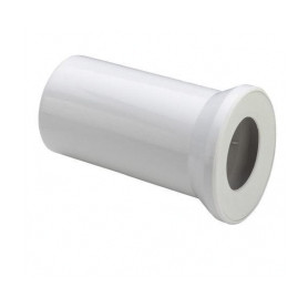 WC toilet bowl connection 110mm, L150mm, white