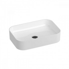 Ravak Washbasin Ceramic 550 R Slim ceramic white