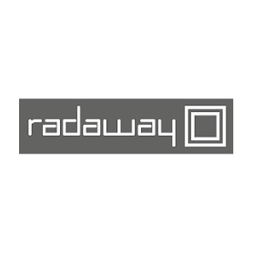 Radaway Ending cap for Argos panel WH Right