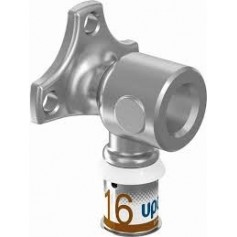 Uponor S-Press PLUS wall outlet 16-Rp1/2 F, with inner thread, 1070639