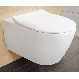 Villeroy&boch Subway 2.0 sienas pods WC Combipack, Direct Flush, SlimSeat
