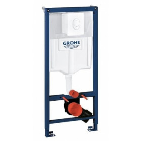 Grohe build in frame for WC, Skate Air button, white 38505SH0, mounts, 500x230mm, h-1130mm, 38722001