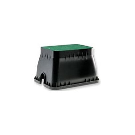 Claber underground irrigation connection well, rectangle, small, 420515