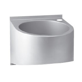 AZP Brno washbasin, round sink, wall mounted, without tap