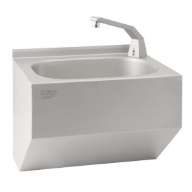 AZP Brno washbasin, middle-size sink, wall mounted, without tap