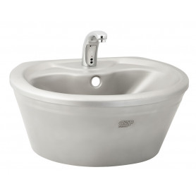AZP Brno stainless steel washbasin with casing, without tap