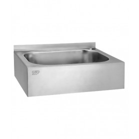 AZP Brno washbasin with casing, wall mounted, connection to one water - 12V, 50 Hz
