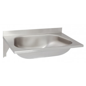 AZP Brno washbasin, wall mounted, without tap