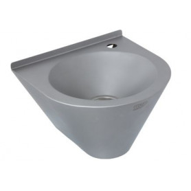 AZP Brno conical washbasin with waste trap, without tap