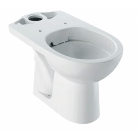 Geberit WC lower part Selnova, with horizontal outlet, Rimfree, 500.283.01.1