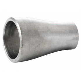 Stainless steel welding reduction 42.4x33.7x2.0 AISI316L