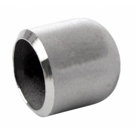 Stainless steel welding cap 88.9x2.0, AISI316L, ISO, seamless