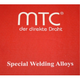 MTC MIG/MAG copper silicon welding wire MT-CuSi3, 1.0mm, 5kg (price for 1kg)