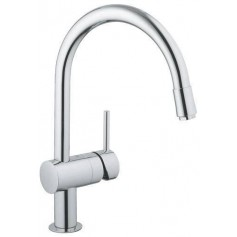 Grohe Minta kitchen mixer, with pull out spout, chrome, 32918000