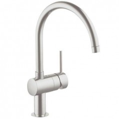 Grohe Minta kitchen mixer Supersteel 32917DC0