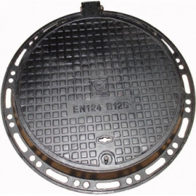 Metnetus cast iron hatch 600mm, non-floating, LNG125
