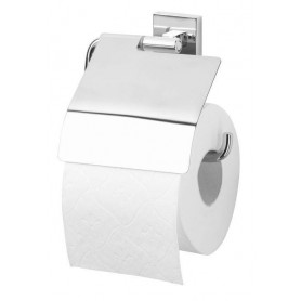 Tiger Melbourne toilet paper holder with cover 2741.3, chrome