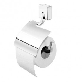 Tiger Impuls toilet paper holder with cover 386630346, chrome