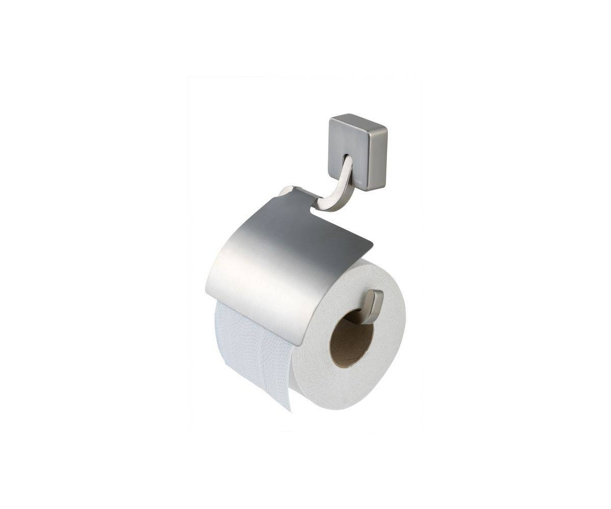 Tiger Toilet Accessoires : Tiger impuls toilet paper holder with cover matte chrome