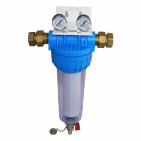 AMG self-cleaning water filter AP500 M/M, with manometers