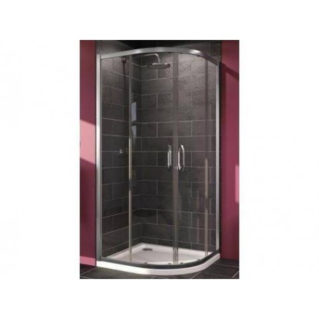 Huppe X1 shower cabin 90x90cm R 550, silver/ transparent, 140604069321