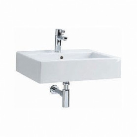 Kolo Twins bathroom washbasin 50x46cm, with water mixer hole/ over-flow, L51150000