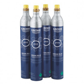 Grohe 40422000 CO2 pudeles (4 gb.) Grohe Blue Starter kit