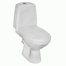 Kolo Solo WC toilet bowl, with horizontal outlet, 3/6L water bowl, bottom water connection, Soft Close seat, 79230000