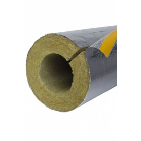 Paroc AluCoat T thermal insulation Ø 64mm/20mm (price for 1m)