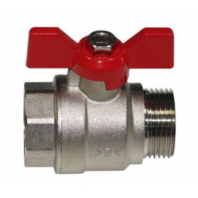 Ibp Conex ball valve 1/2 FM, with butterfly handle